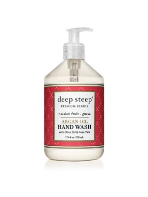 Argan Oil Hand Wash Passion Fruit Guava 17.6oz - Front