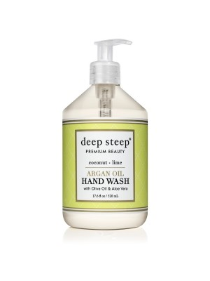 Argan Oil Hand Wash Coconut Lime 17.6oz - Front