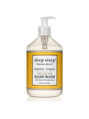 Argan Oil Hand Wash Grapefruit Bergamot 17.6oz - Front