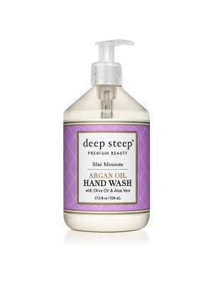 Argan Oil Hand Wash Lilac Blossom 17.6oz. - Front