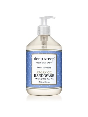 Argan Oil Hand Wash Fresh Lavender 17.6oz - Front