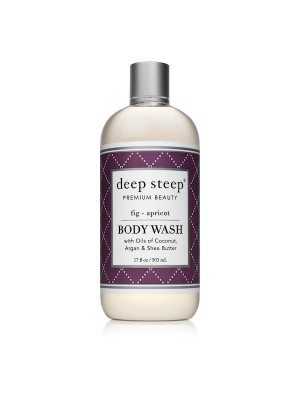 Body Wash Fig Apricot 17oz - Front