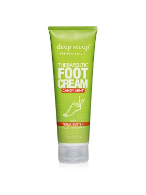 Therapeutic Foot Cream Candy Mint 8oz - Front