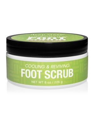 Therapeutic Foot Scrub Candy Mint 8oz - Front