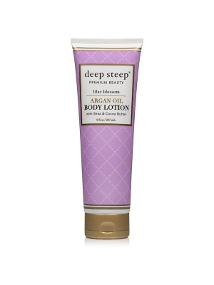 Argan Oil Body Lotion Lilac Blossom 8oz. - Front