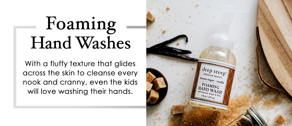 Foaming Hand Washes